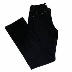Levi's 505 Straight Leg Women's Black Jeans Size 2